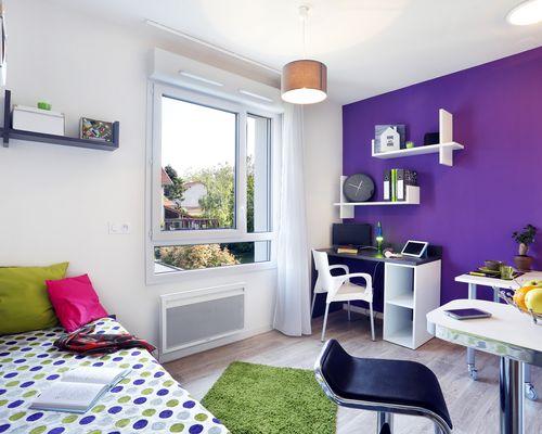 Location résidence étudiante Lyon 8 à Lyon
