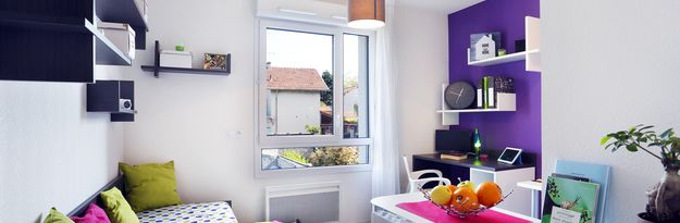 Location résidence étudiante Lyon 8 à Lyon - Photo 2