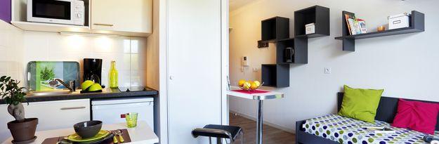 Location résidence étudiante Villeneuve Métropole à Villeneuve d'Ascq - Photo 1