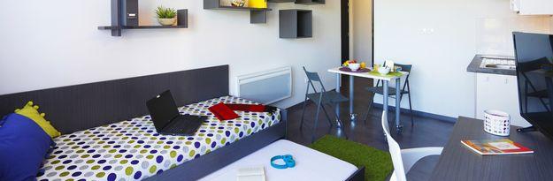Location résidence étudiante Villeneuve Métropole à Villeneuve d'Ascq - Photo 2