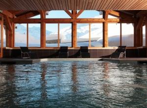 Chalet du Mont Vallon spa resort à Les Menuires