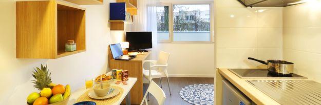 Location résidence étudiante Rennes Villejean à Rennes - Photo 1