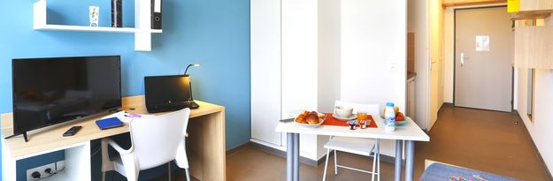 Location résidence étudiante Villeneuve Pont de Bois à Villeneuve d'Ascq - Photo 2