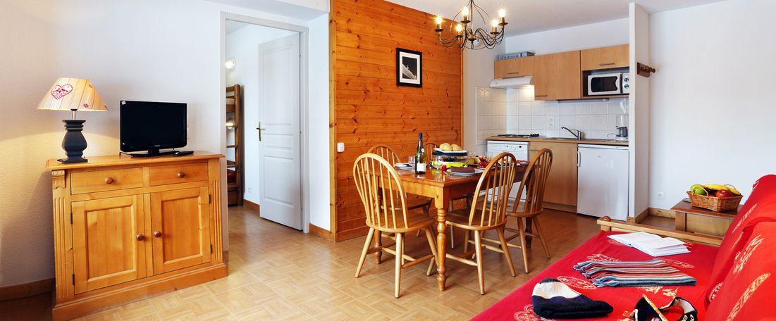 activit s touristiques flumet avec la r sidence vacances les chalets des evettes en hiver. Black Bedroom Furniture Sets. Home Design Ideas