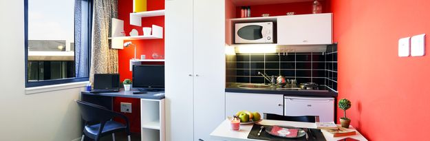 Location résidence étudiante Eurasanté à Loos Lez Lille - Photo 3