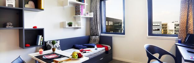 Location résidence étudiante Eurasanté à Loos Lez Lille - Photo 1