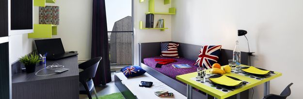 Location résidence étudiante Montécristo à Nantes - Photo 4