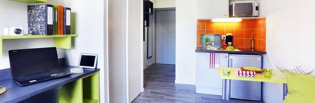 Location résidence étudiante Thésée à Villeurbanne - Photo 1