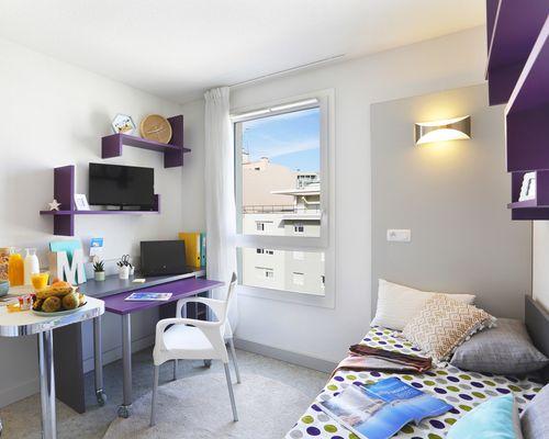 Location résidence étudiante Marseille Timone à Marseille